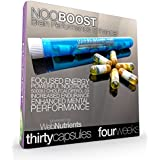 NooBoost - 30 Powerful Nootropic Booster Caps - The Brain and Body Booster for NZT-48