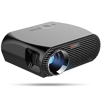 ZHL WiFi Proyector, Proyector De 5500 Lúmenes 1080P HD LED con La ...