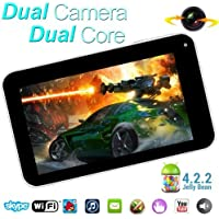 Goldengulf 9 INCH ANDROID 4.2 TABLET PC DUAL CAMERA CPU WM8880 8GB 2014 Version.