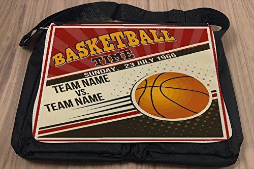 Borsa Tracolla Sport Basket Stampato