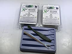 Soft Plastic lure making kits provide an inexpensive way to begin producing your own soft plastic fishing lures. Specialized kits are available for many species of fish and fishing technique. Exclusive X-Cubes from Fusion X are pre-colored so...