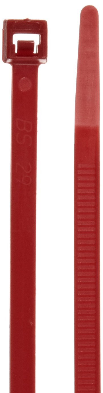 Morris Products 20984 Air Handling Cable Ties For Plenum Areas, 11.8'' Length, 0.19'' Width, Tensile Strength, 3'' Max Bundle Diameter (Pack of 100)