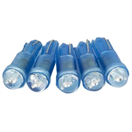 Superlite ELE20048 Juego de 5 Lámparas LED Cuadro, Color Azul
