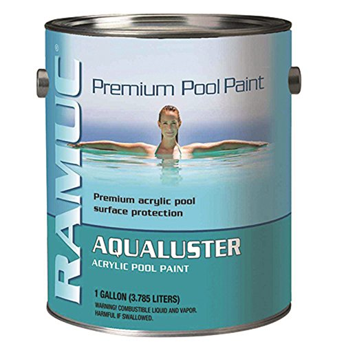Ramuc AQ32801 Aqualuster Acrylic Pool Coating - Dawn Blue - 1 Gallon