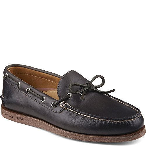 Sperry Top-Sider Gold Cup Authentic Original 1-Eye Boat Shoe Charcoal clearance latest pt7Ky8l
