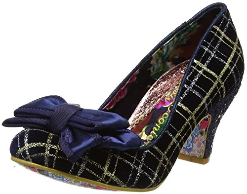 Navy Gold da Irregular Donna Scarpe Choice Ban Joe con Tacco Blu wwRz6qU