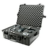 Pelican 1600 Case with Foam for Camera (Black)