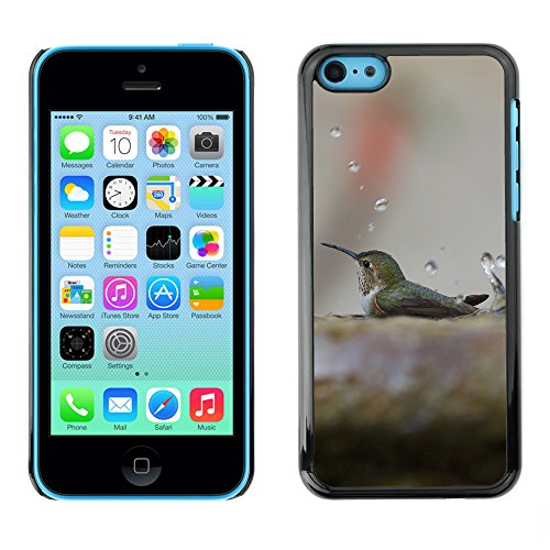 Premio Sottile Slim Cassa Custodia Case Cover Shell // F00007424 oiseau // Apple iPhone 5C