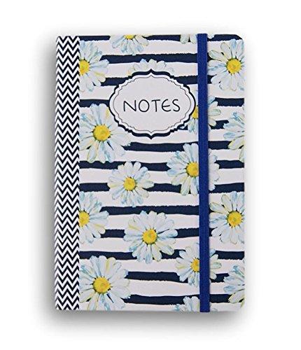 Miniature Notepad (Fashion Miniature Note Pad - 80 Sheets (Blue Daisy))