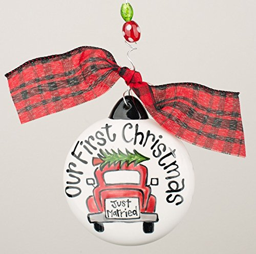 Glory Haus Our 1st Christmas Car Puff Ornament