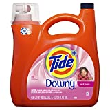 Tide Plus Downy, April Fresh Scent, HE Turbo Clean Liquid Laundry Detergent, 4.08 L, 89 loads