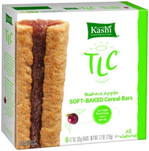 UPC 018627394280, Kashi TLC Cereal Bar Baked Apple, 6-Count Bars (Pack of 6)
