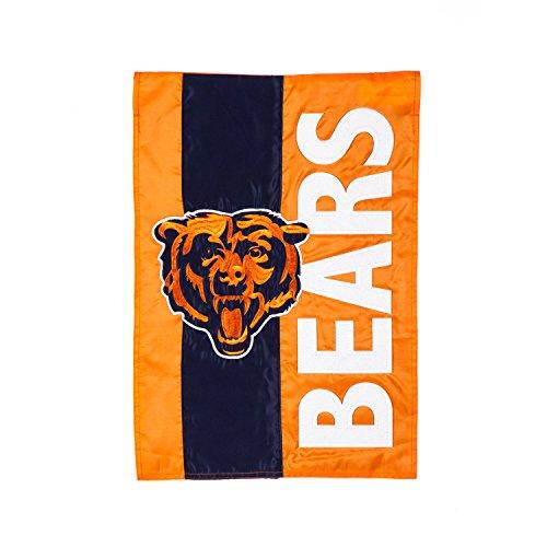 Team Sports America Chicago Bears Embellish Garden Flag, Multicolor