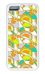 iPhone 5c Cases - Summer Unique Wholesale TPU White Cases Personalized Design Fans Of The Snail