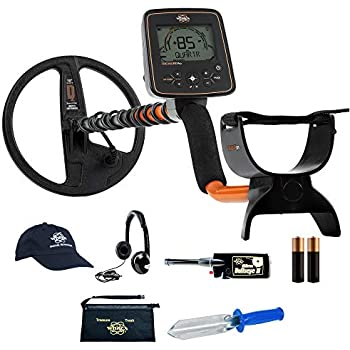 Whites TreasurePro Metal Detector Bundle w/Bullseye II & Accessories