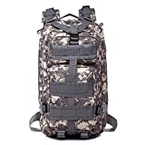 30L 1000D Nylon Waterproof Outdoor tactical backpack for Travling+Camping+Hiking (ACU) Review
