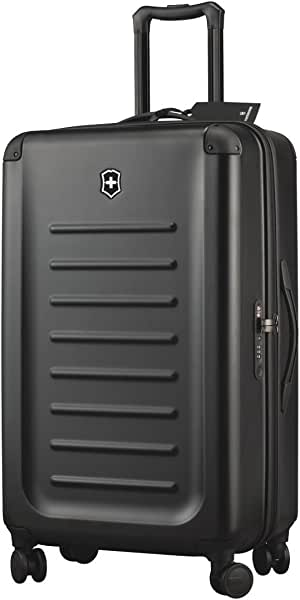 """Victorinox Spectra 2.0 Hardside Spinner Suitcase, Black, Checked-Large (30"""")"""