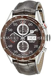 TAG Heuer Men's CV2A12.FC6236 Carrera Day Date Automatic Chronograph Watch