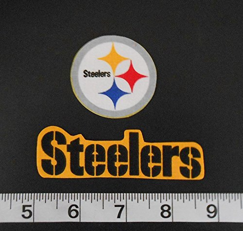 NFL Pittsburgh Steelers Iron On Fabric Applique Patch Logo DIY Craft