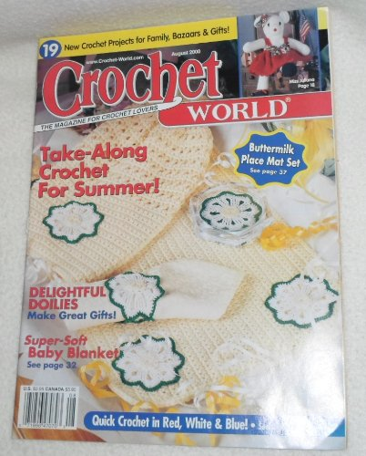 Crochet World - August 2000