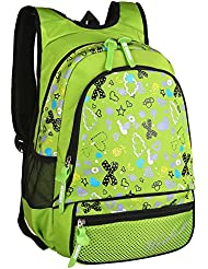 Pattern Print Girls School Backpack for Kids Children School Bags Bookbags