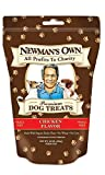 Newman's Own Organics Premium Dog Treats Small Size Chicken Flavor - Pack of 3 - 10 Oz. ea.