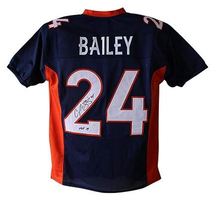 new product a6980 50fe9 Amazon.com: Champ Bailey Autographed/Signed Denver Broncos ...