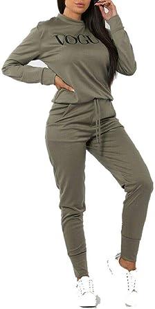 Fashion Plus Vogue - Conjunto de chándal para Mujer (Tallas 36 a ...