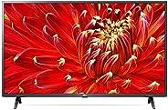 "Smart TV LED PRO 43"" Full HD LG 43LM631C0SB, ThinQ AI, 3 HDMI, 2 USB, Wi-Fi, Conversor Di"