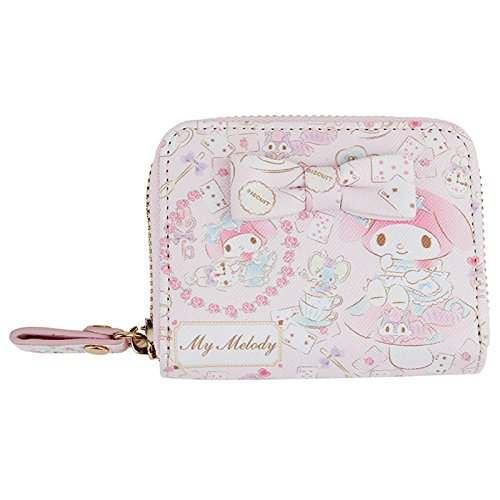 [Sanrio My Melody compact zipper wallet Alice From Japan New] (Play Words Costume Ideas)