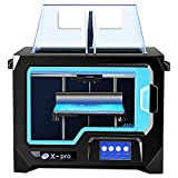 QIDI TECH 3D Printer, X-Pro 3D Printer Kit with Breakpoint Printing, Dual Extruder