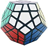 Shengshou Megaminx Black/White Speed Cube (Color May Vary)