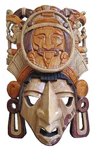 Mayan Mask - Solar Calendar *Premium Craft* by Sofia's Findings