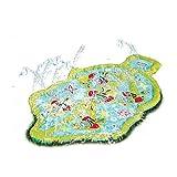 Giggle 'N Splash Lady Bug Sprinkle and Splash Play Mat 48inch