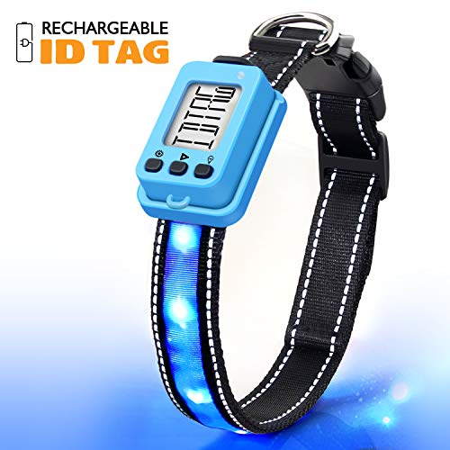 KABB Collar Rechargeable Programmable Glowing product image