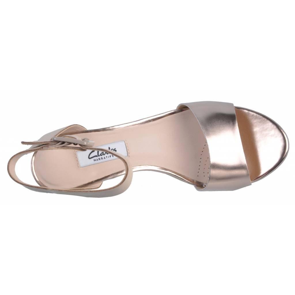 Clarks Ornate Jewel Damen Knöchelriemchen Sandalen mit Keilabsatz