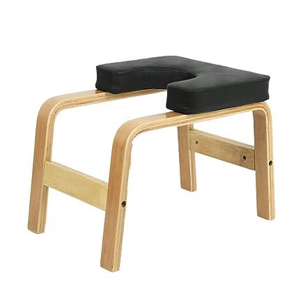 Multifuncional Yoga Silla de inversión Silla de Madera ...