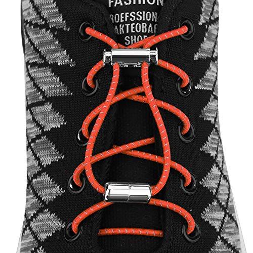 NEXCURIO Elastic Elderly Shoelaces Sneakers