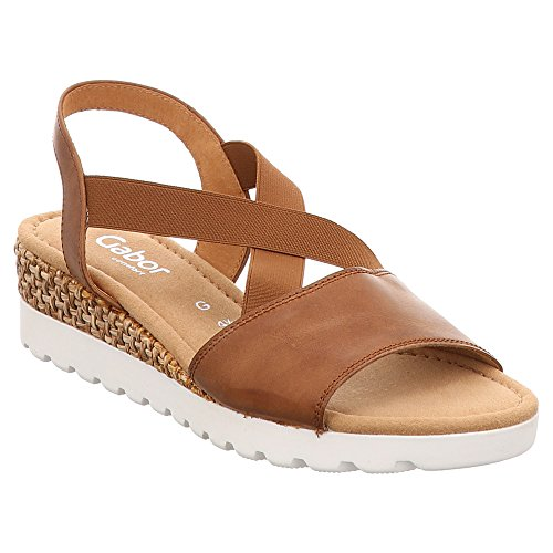 Gabor 82-853 Womens Fashion Sandals Brown KJlCtXVR
