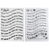 Kwan Crafts 2 Sheets Different Style Merry...