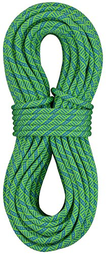 Sterling Rope Evolution Helix Climbing Rope, Neon Green, 60m