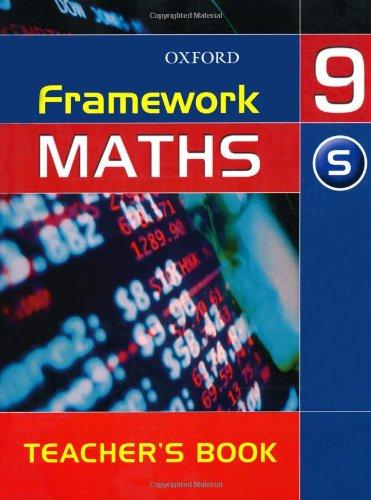 Framework Maths: Support Teacher's Book Year 9