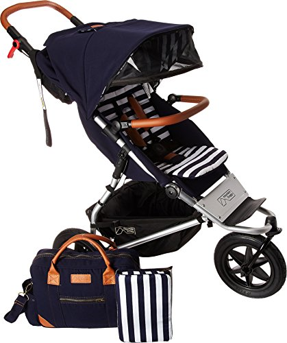 Mountain Buggy Urban Jungle Luxury Collection Stroller, Nautical ()