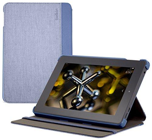 - Belkin Chambray Case for Fire HD 7 (only fits 4th Generation Fire HD 7), Slate