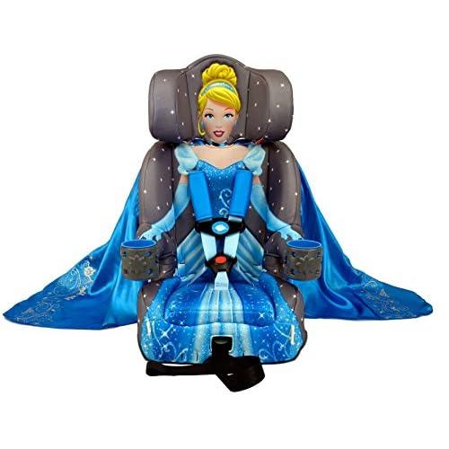 KidsEmbrace Disney Cinderella Platinum Combination Harness Booster Car Seat