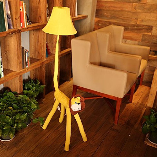 LINA-The living room floor lamp children's room of the lion bedside Lamp Decoration Lamp Gift Card ,floor lamp