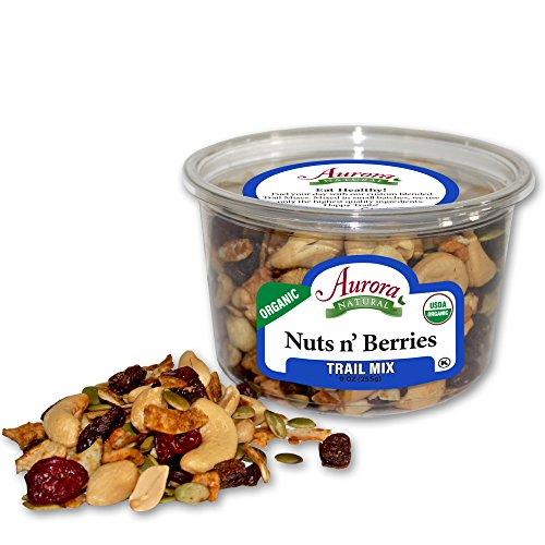 Aurora Natural Products Organic Nuts & Berries, 9 Ounce by Aurora Natural
