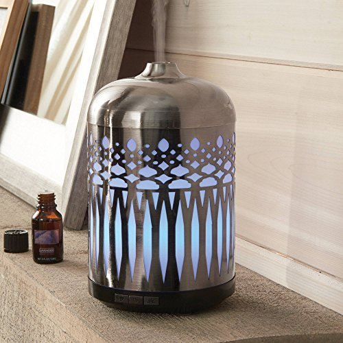 Better Homes and Gardens Antique Pewter Large Oil Diffuser by Better Homes and Gardens