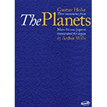 Three Movements from The Planets: for Organ