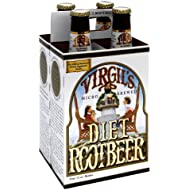 Virgils Soda Root Beer Zero 4pk